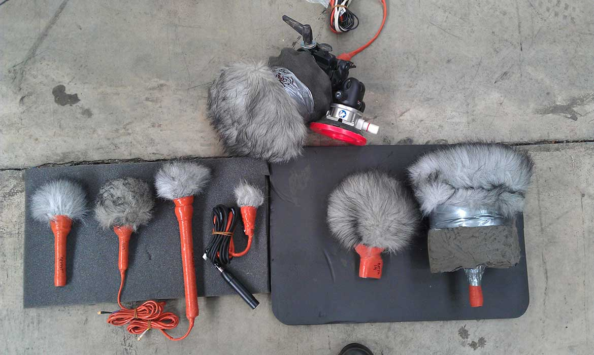 d:dicate™ and d:screet™ microphones ready for DiRT Rally recording.