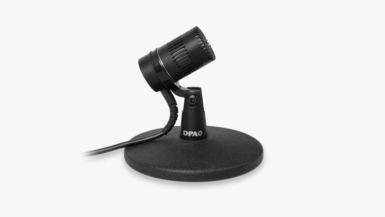 4018 Tischmikrofon mit Superniere, XLR