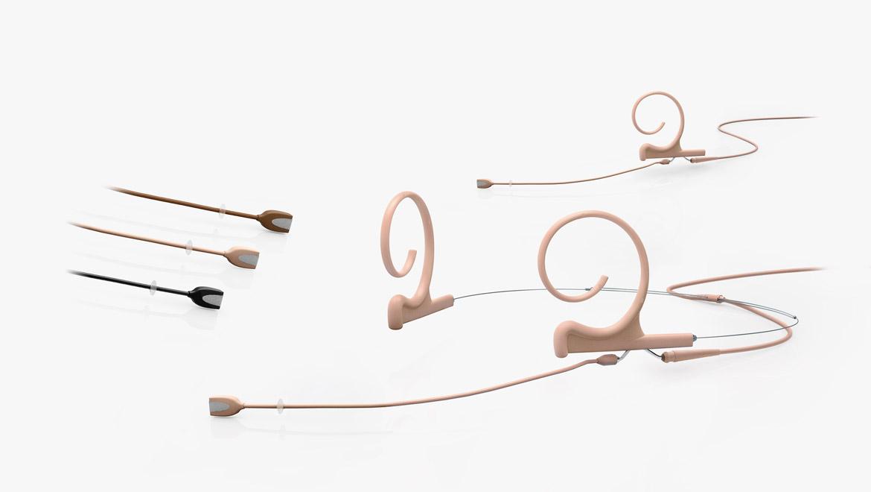 Kopf- und Ohrbügel-Installationsmikrofone