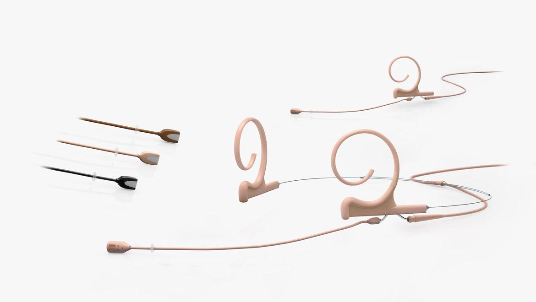 Flex Kopfbügel- oder Ohrbügelmikrofon mit Richtwirkung