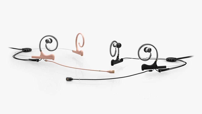 In-Ear-Rundfunk-Kopfbügelmikrofon