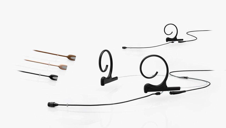 Flex Kopf- und Ohrbügelmikrofone mit Kugelcharakteristik